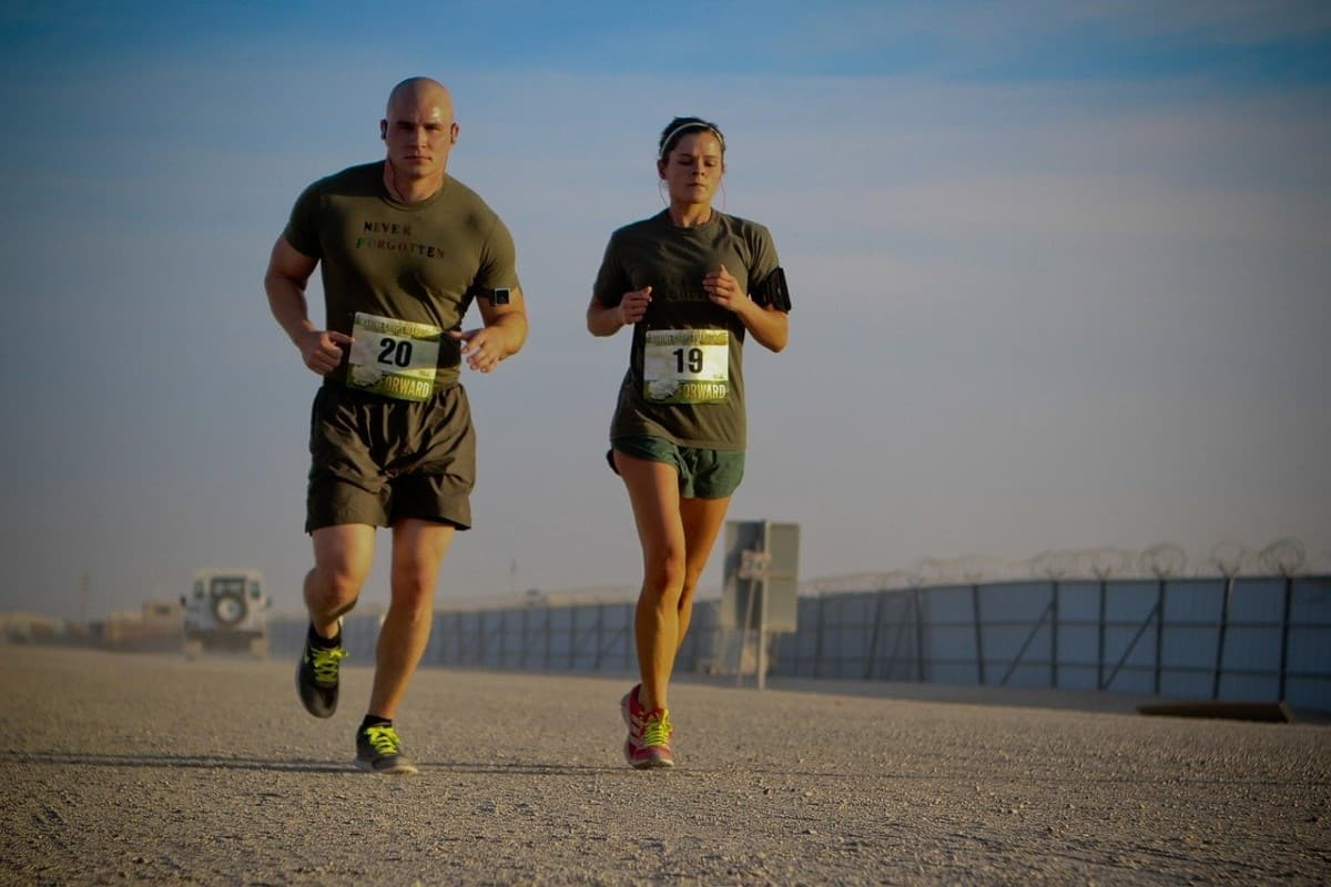 runners, race, competition