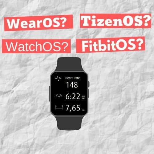 Smartwatch: WearOS, WatchOS, Tizen oder FitbitOS? 1
